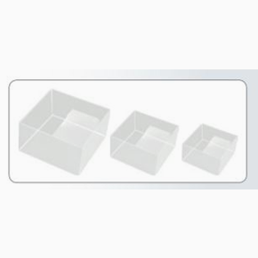 Nesting Boxes x3, clear